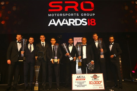 SRO Champions of 2018 Crowned